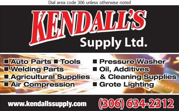 Kendall's Supply Ltd - Auto Parts & Supplies Retail Digital Ad