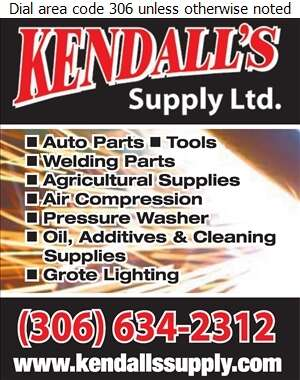 Kendall's Supply Ltd (After Hours) - Welding Equipment & Supplies Retail Digital Ad