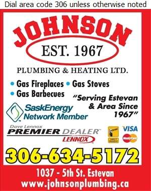 Johnson Plumbing & Heating Ltd - Fireplaces Digital Ad