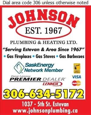 Johnson Plumbing & Heating Ltd - Fireplaces Digital Ad