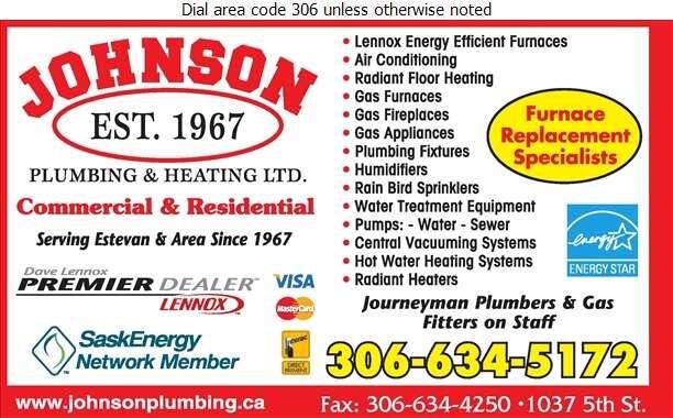 Johnson Plumbing & Heating Ltd - Plumbing Contractors Digital Ad