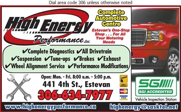 High Energy Performance - Auto Repairing Digital Ad