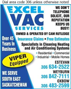 Expert Vac Services - Furnaces Cleaning Digital Ad