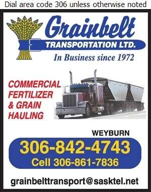 Grainbelt Transport Ltd - Trucking Digital Ad