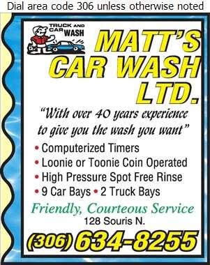 Matt's Car Wash Ltd - Car Washing & Polishing Digital Ad