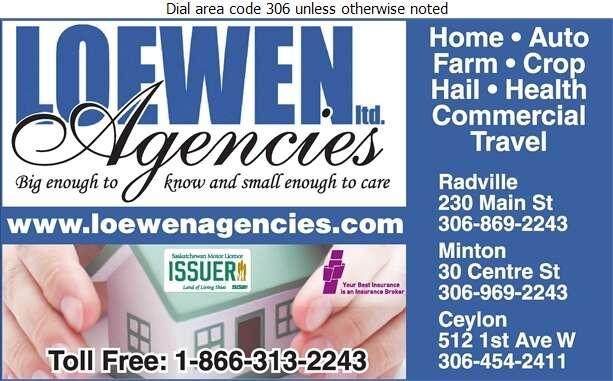Loewen Agencies Ltd - Insurance Digital Ad