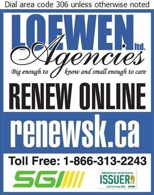 Loewen Agencies Ltd - Motor License Issuers Digital Ad
