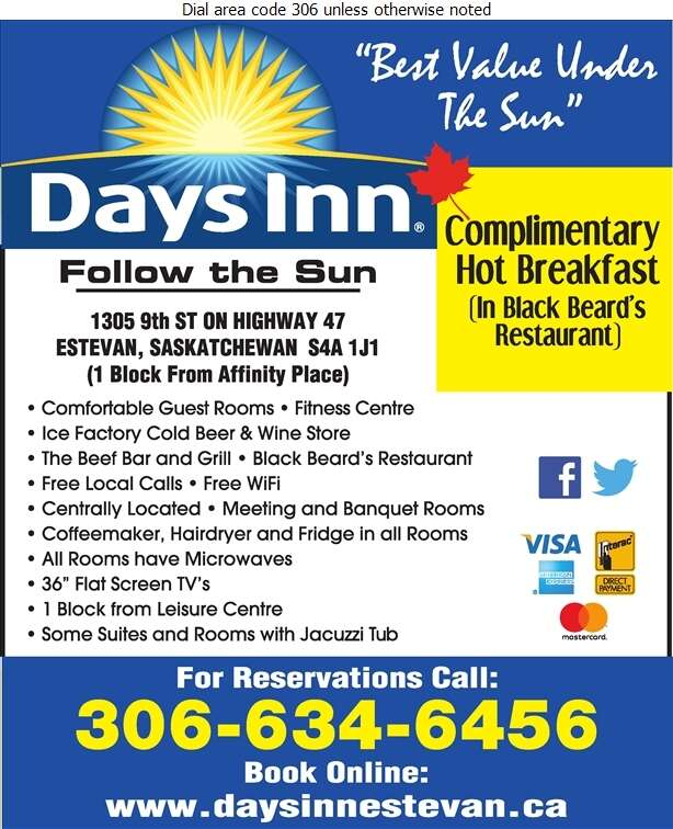Days Inn (Estevan) - Motels Digital Ad