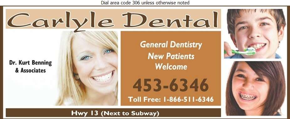 Carlyle Dental (Dr Kurt Benning) - Dentists Digital Ad