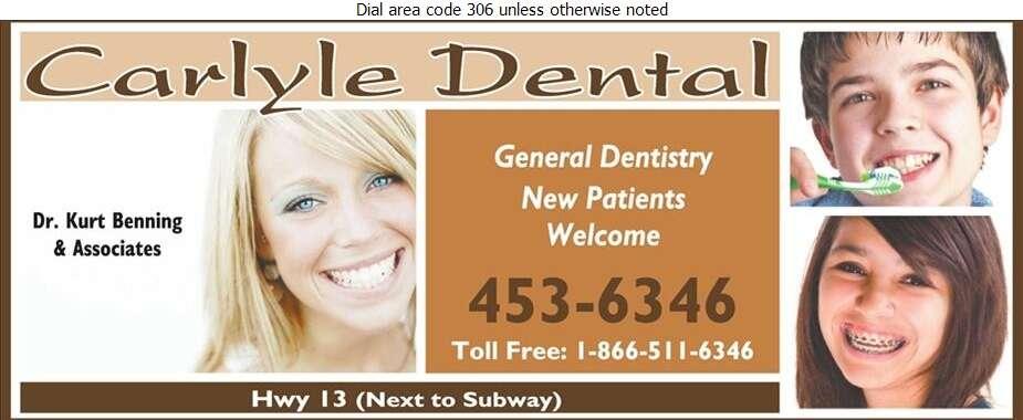 Carlyle Dental (Dr Kurt Benning) - Dentists Digital Ad