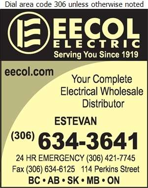 Eecol Electric (24 Hour Emergency) - Electric Equipment & Supplies Whol Digital Ad