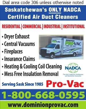 Pro-Vac - Furnaces Cleaning Digital Ad