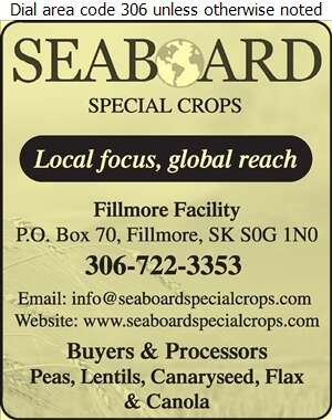 Seaboard Special Crops - Grain Merchants Digital Ad