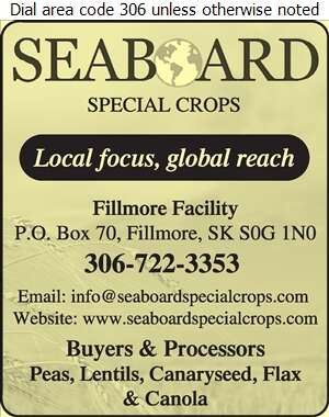 Seaboard Special Crops (Fillmore Elevator West) - Grain Merchants Digital Ad