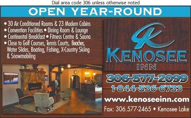 Kenosee Inn - Motels Digital Ad