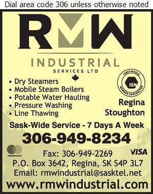 Regina Mobile Wash - Steam Cleaning Industrial Digital Ad
