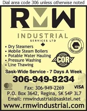 Regina Mobile Wash - Steam Cleaning Industrial Digital Ad