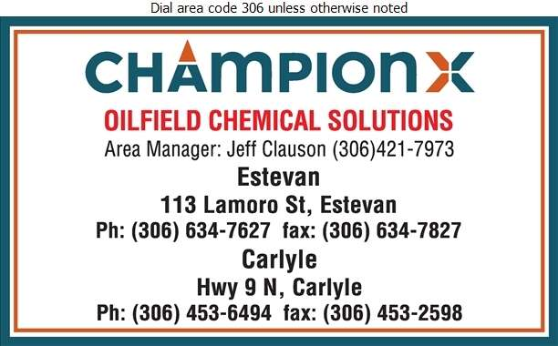 Nalco Champion (Hwy 39 West) - Oil Treatment Digital Ad