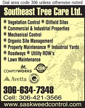 Southeast Tree Care - Weed Control Service Digital Ad