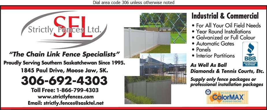Strictly Fences - Fences Digital Ad
