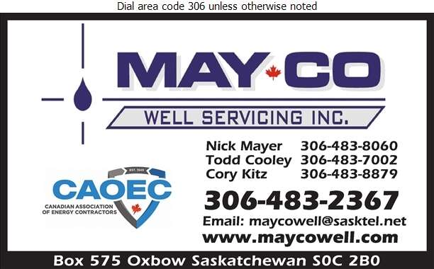 Mayco Well Servicing Inc (Todd Cooley) - Oil & Gas Well Service Digital Ad