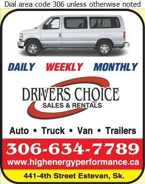 Driver's Choice - Auto Renting & Leasing Digital Ad
