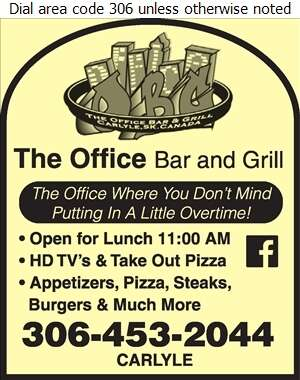 The Office Bar & Grill - Restaurants Digital Ad