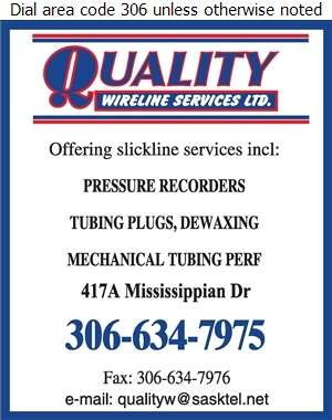 Quality Wireline Services - Oil & Gas Well Service Digital Ad