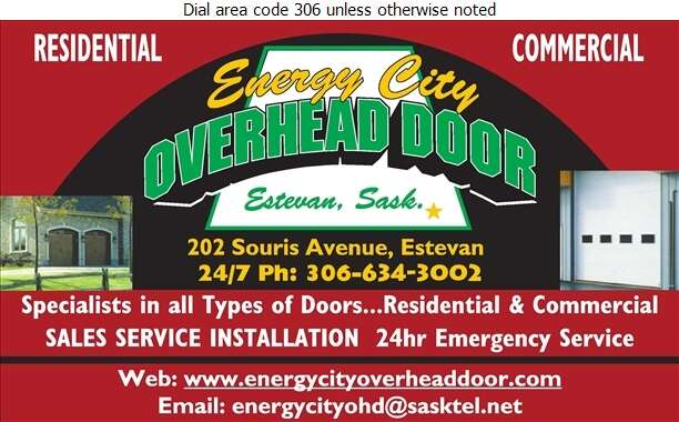 Energy City Overhead Door - Doors Overhead Digital Ad