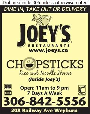 Joey's Only Seafood - Restaurants Digital Ad