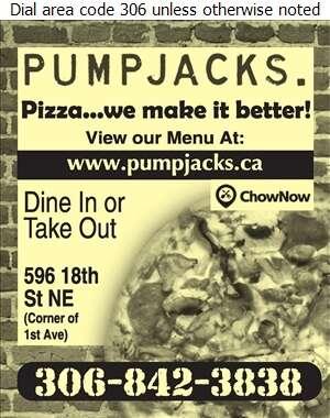 PUMPJACKS Saloon & Steakhouse - Pizza Digital Ad