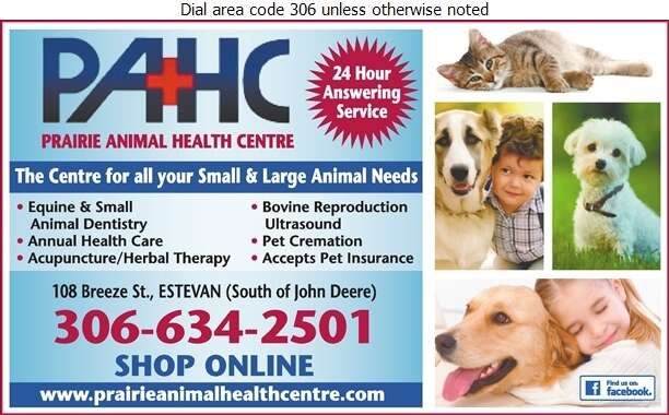 Prairie Animal Health Centre - Veterinarians Digital Ad