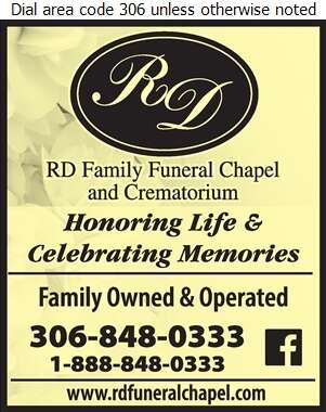 RD Family Funeral Chapel & Crematorium - Funeral Homes & Planning Digital Ad