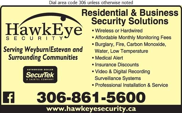 Hawkeye Security - Alarm Systems Digital Ad