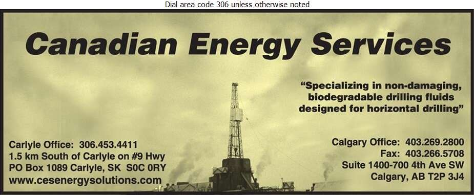 Canadian Energy Services - Oil & Gas Exploration Digital Ad