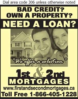 1st & 2nd Mortgages - Mortgages Digital Ad