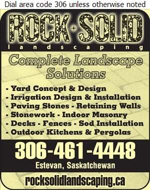 Rock Solid Landscaping - Landscape Contractors & Designers Digital Ad