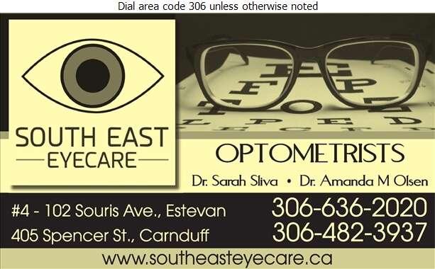 South East Eyecare - Optometrists Digital Ad