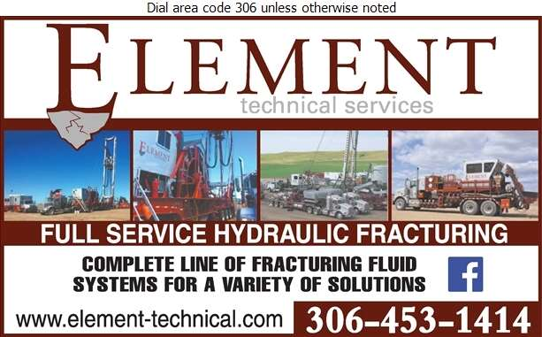 Element Technical Services Inc - Oil & Gas Well Service Digital Ad