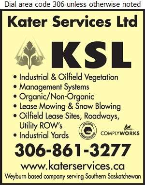 Kater Services Ltd - Weed Control Service Digital Ad
