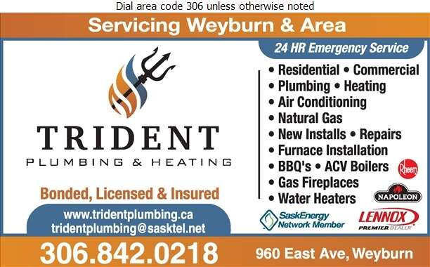 Trident Plumbing & Heating - Plumbing Contractors Digital Ad