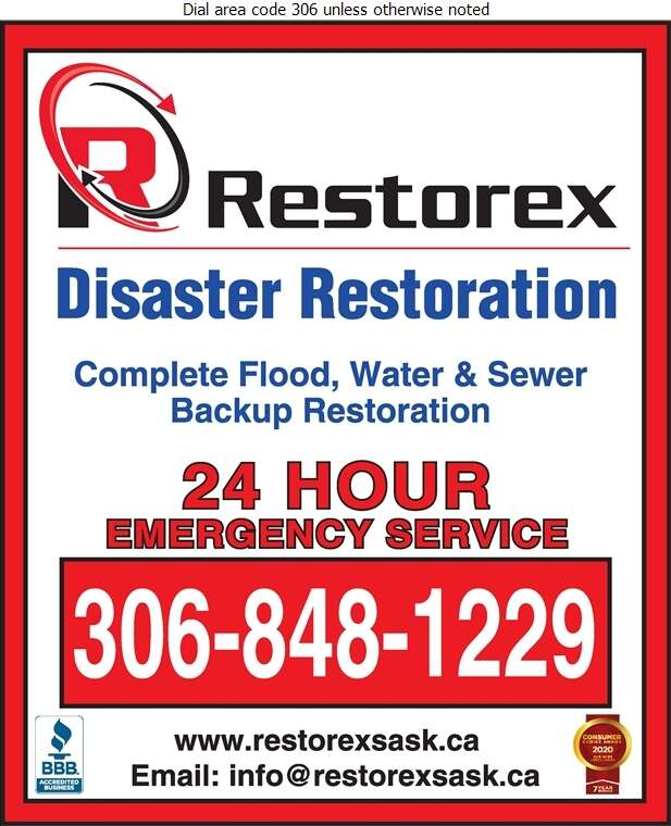Restorex Disaster Restoration - Flood Damage Restoration & Floodproofing Digital Ad