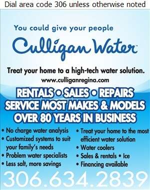 Culligan Water - Water Softening Equipment Service & Supplies Digital Ad