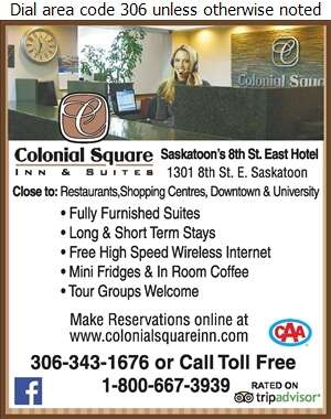 Colonial Square Inn & Suites - Hotels & Motels Reservations Out of Town Digital Ad