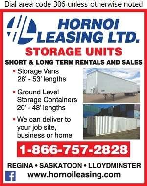 Hornoi Leasing Ltd - Containers- Transportation & Storage Digital Ad