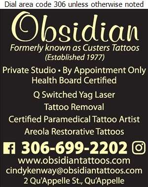 Custers Tattoos - Tattooing Digital Ad