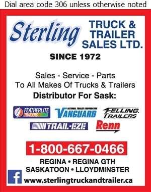 Sterling Truck & Trailer Sales Ltd - Trailers Truck Digital Ad