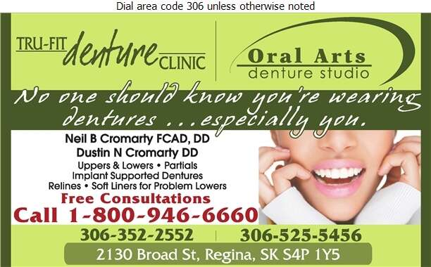 Tru-Fit Denture Clinic - Denturists Digital Ad