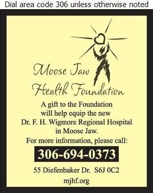 Wigmore Dr F H Regional Hospital - Charitable & Non-Profit Organizations Digital Ad