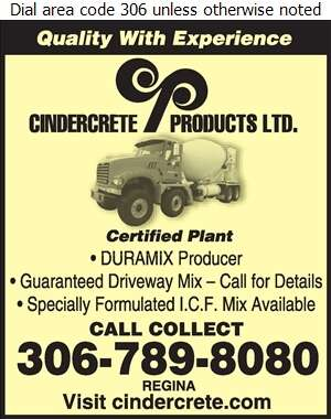 Cindercrete Products Ltd (Trans Mix Concrete) - Concrete Ready Mixed Digital Ad